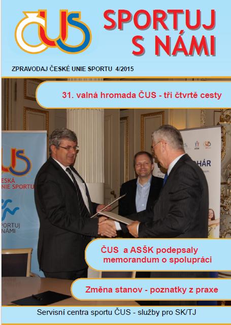 Zpravodaj ČUS č. 4/2015